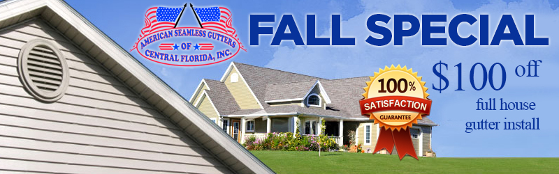 American Seamless Gutters Of Central Florida 407 433 6751