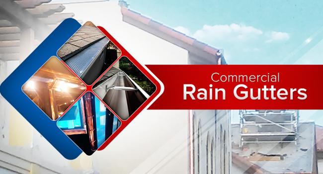 commercial rain gutters