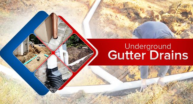 underground gutter drains